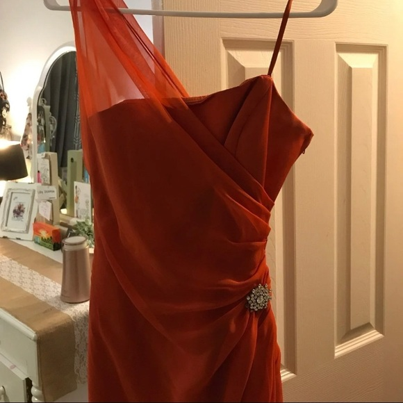 Jordan Dresses & Skirts - Beautiful orange formal dress!!